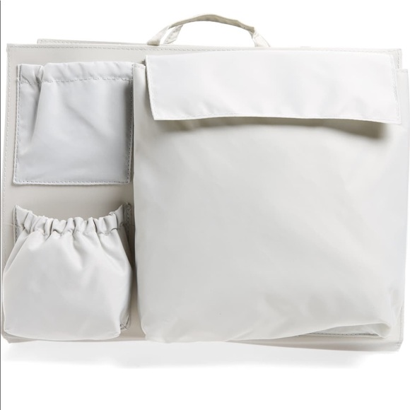 Tote Savvy Bags Tote Savvy Diaper Bag Handbag Insert Soft Grey Poshmark